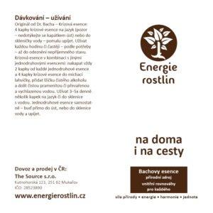 Energie rostlin_Bachovy esence jako lékárna na cesty i na doma_cestovní balení