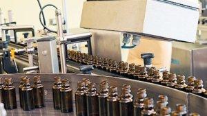 bachovy esence - vyroba - plnici linka Energie rostlin