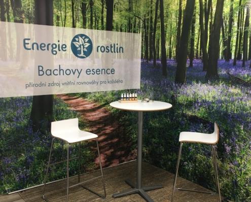Bachovy esence Energie rostlin_stánek