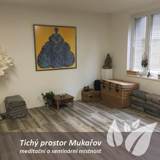 Tichý prostor Mukařov - semináře, meditace, setkání